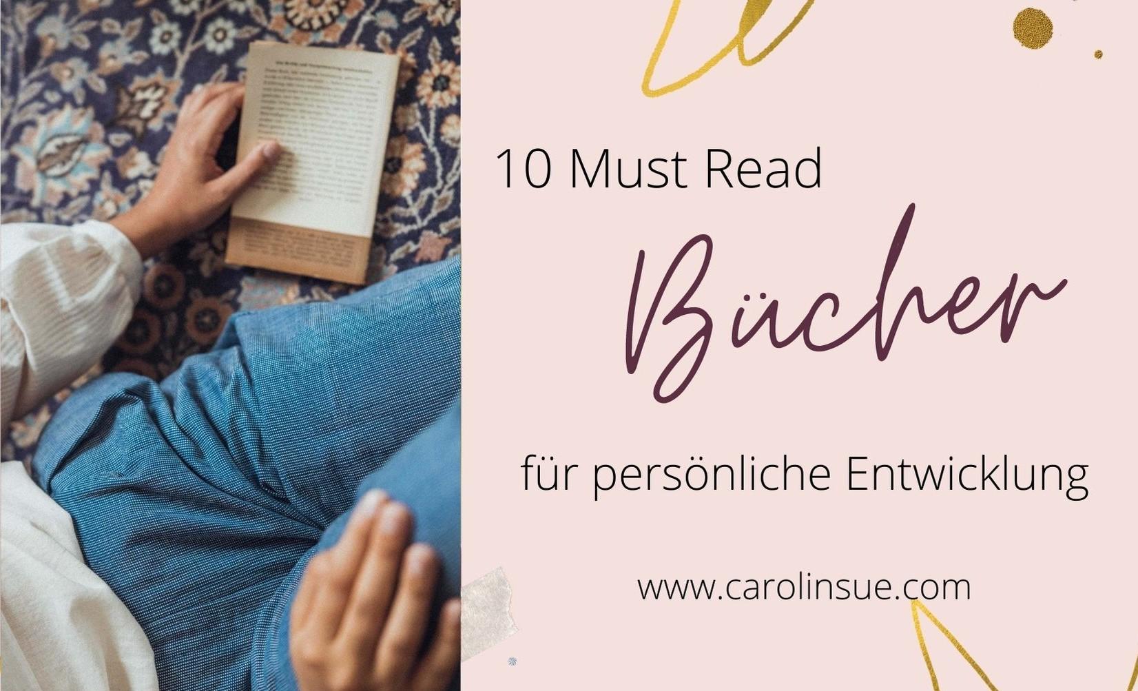 10 Must Read Bücher für persönliche Weiterentwicklung